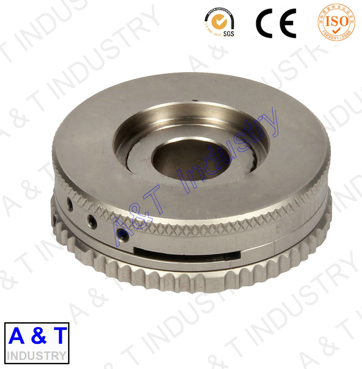 Precision CNC Machining Parts with Aluminum/Brass/Stainless Steel (CUSTOMIZED)