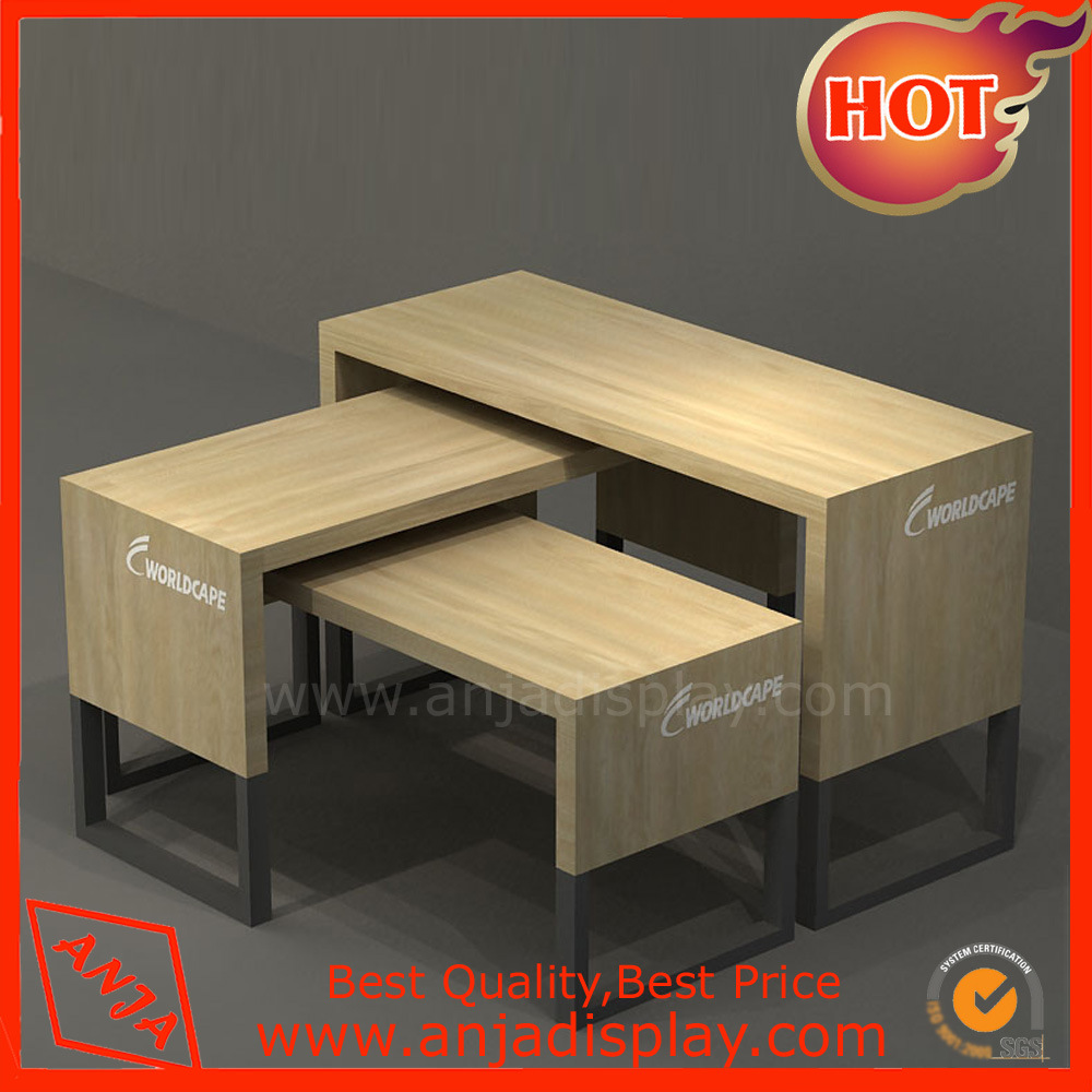 Modern MDF Store Fixtures Table for Shops