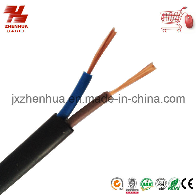 PVC Coated Flexible Flat Cable 2X1.5mm2