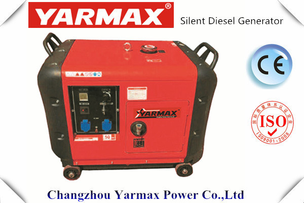 Yarmax 3kVA Air Cooled Ultra Silent Diesel Generator