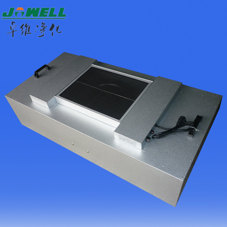 Galvanized Zinc Steel Motor 220V Clean Room Fan Filter Unit