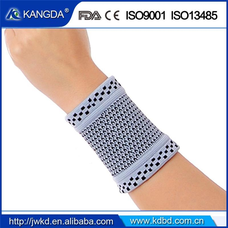 Sport Wrist Band Support Wraps Brace Sleeve with Ce, FDA, ISO