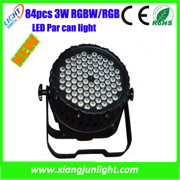 New 84X3w Outdoor LED PAR Can Stage Lights