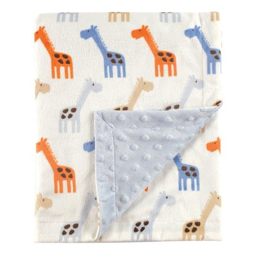 Baby Soft Throw with Printed Color