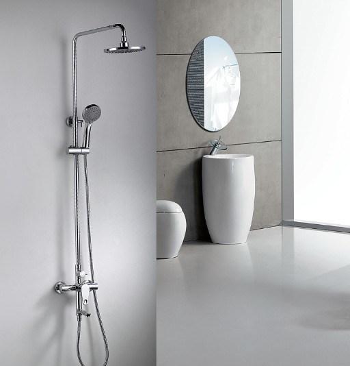 Shower Faucet, Single Lever Shower Mixer