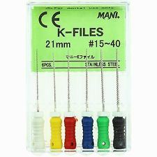Dental Root Canal Reamer K H File