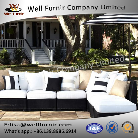 Well Furnir Luxury 6 Piece Sofa Seating Group with Cushion J004