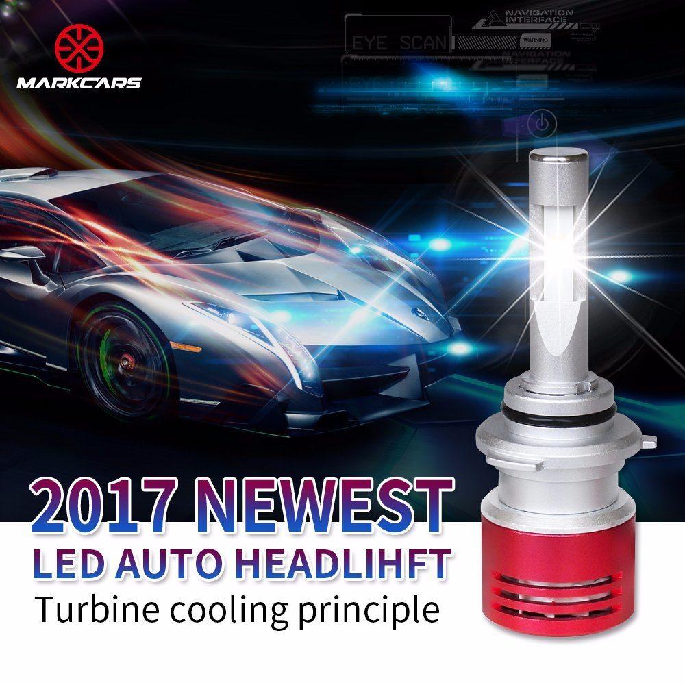 Markcars High Quality Headlight V5-H11 LED Car Light