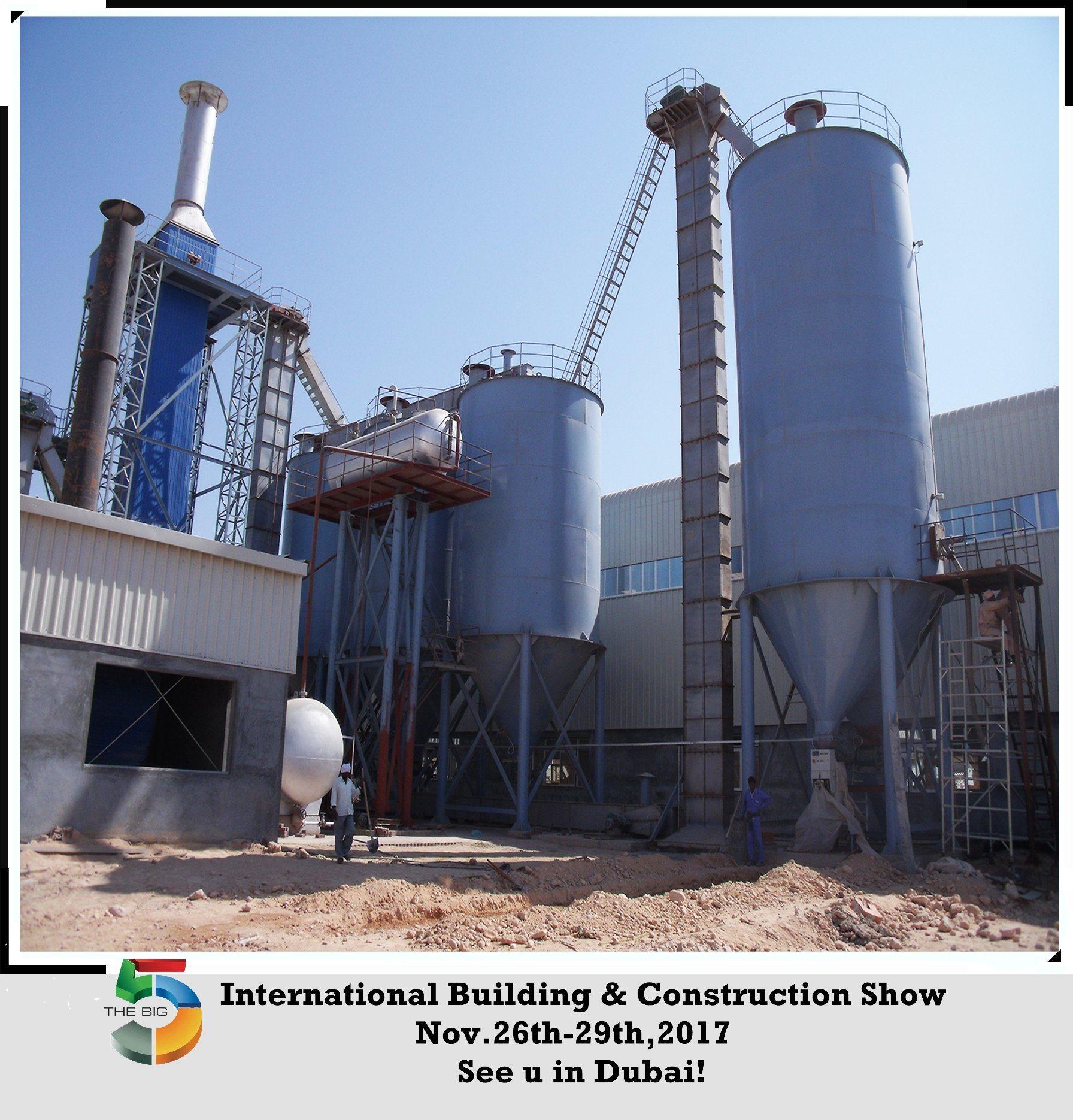 Natural Gypsum Powder Production Line PLC System Equipment