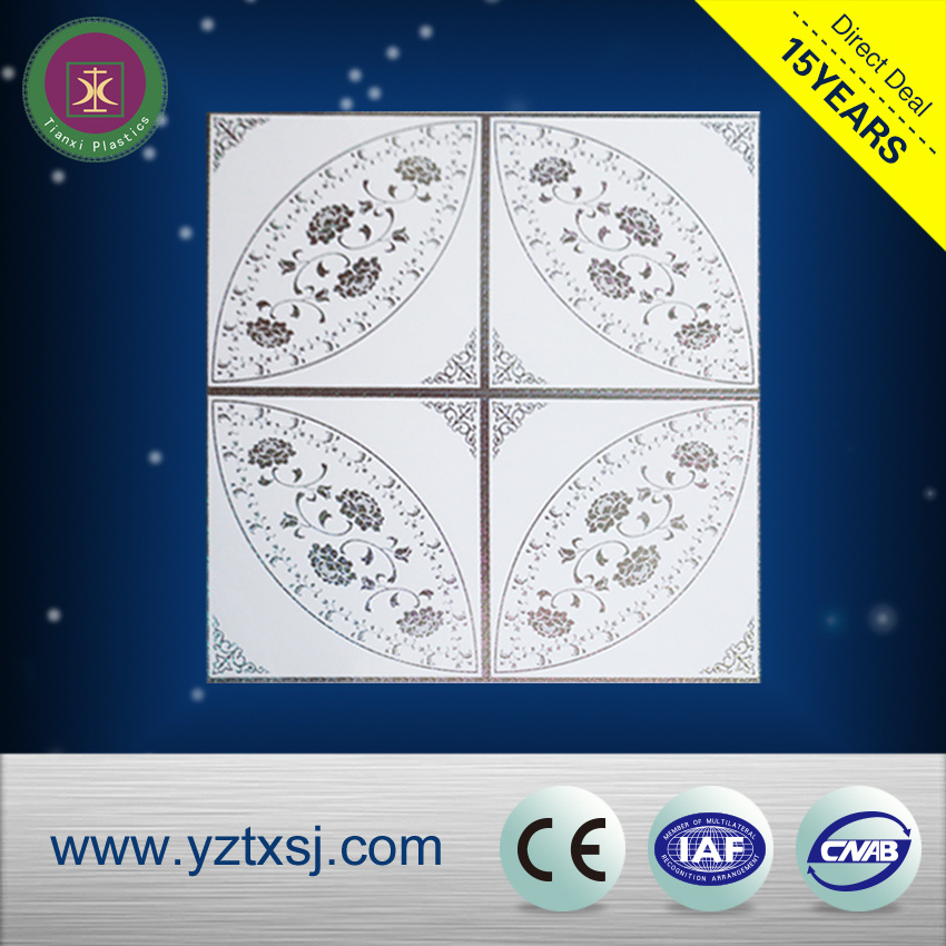 Morden Style PVC Ceiling Tiles for Bedroom Decoration
