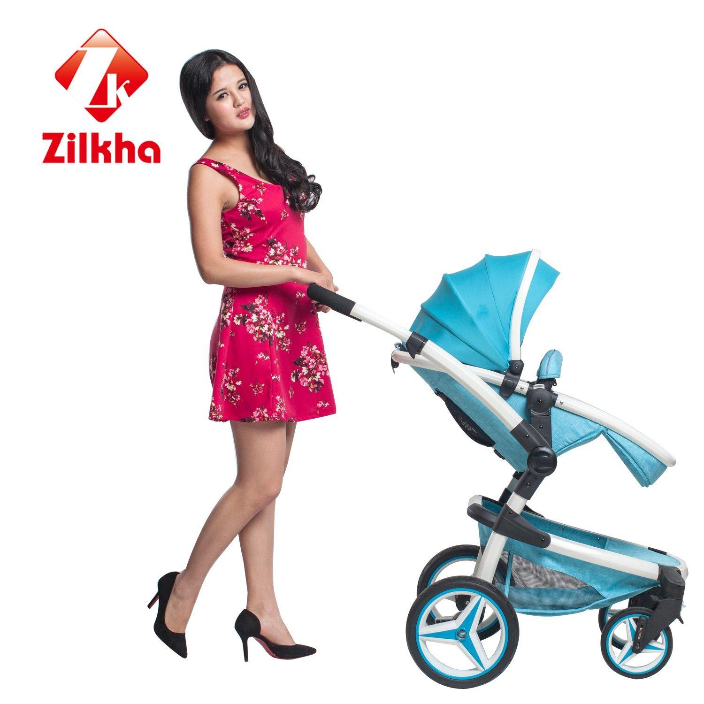 Baby Stroller with Anodizing/Power Coating Alu Frame, EVA Wheel