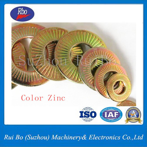ISO Nfe25511 Single Side Tooth Flat Steel Spring Washer