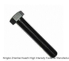 DIN933 Carbon Steel Hex Bolts Full Thread All Grade