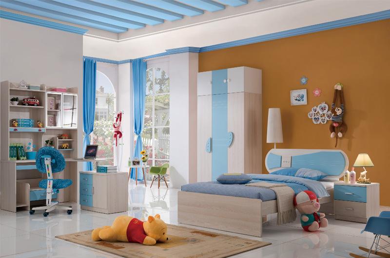 Foshan Pink Princess Kids Bedroom Furniture Set (8882)