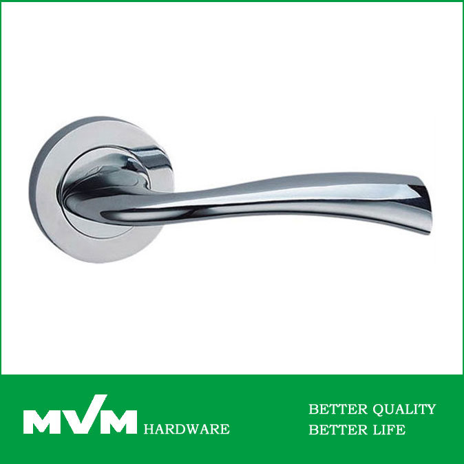 High Quality Zamak Rosette Door Lever Handle Z1243e3