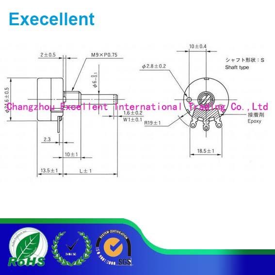 203 Adjustable Resistor RV24yn 40s B203 20k Integrated Circuit