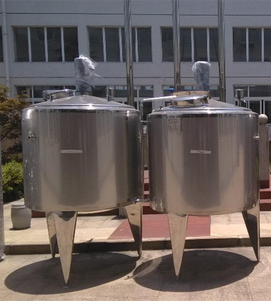 Storage Tank Milk Tank Mixing Water Tank Fermentation Fermentator Tank