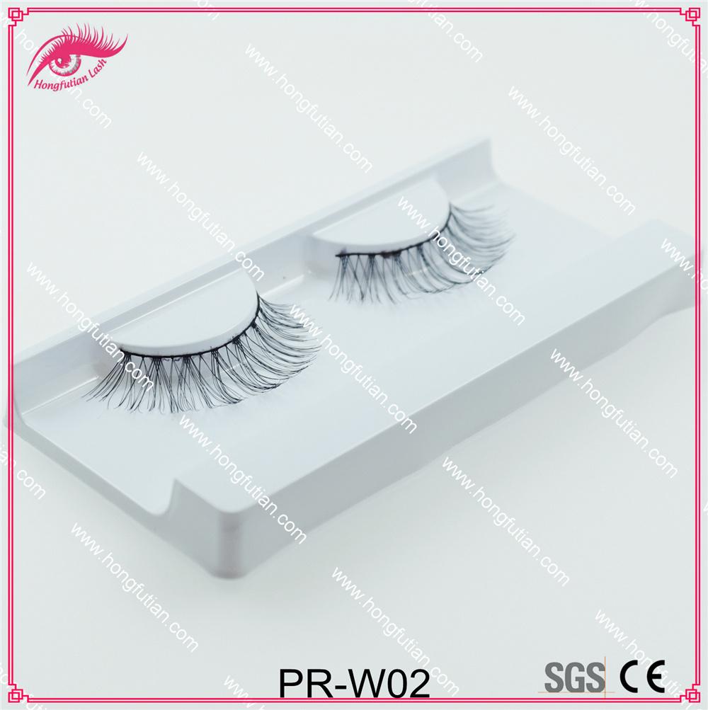 Top Quality Human Hair Eyelash Soft Lashes Wholesale Factory in Qingdao
