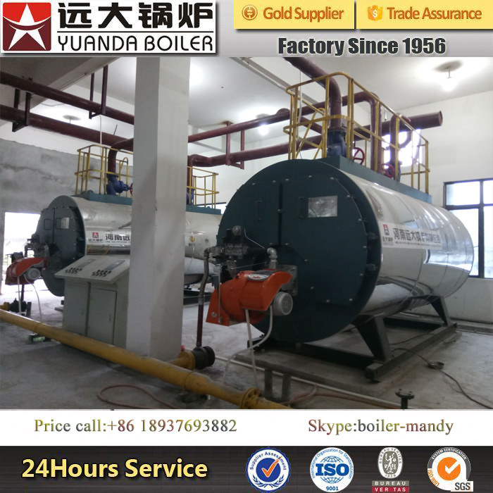 4ton 10bar Dissel Oil and Natural Gas Fired Steam Boiler for Garment Industry
