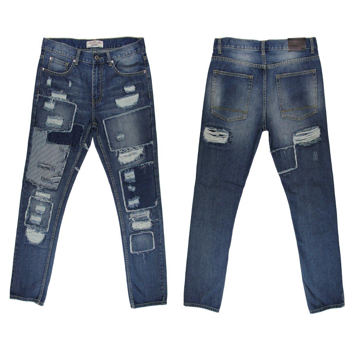 Factory 2017 Men′s Straight Denim Jeans (MYX022)