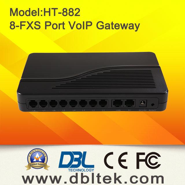 8-Fxsvoip Gateway (HT-882) (ATA)