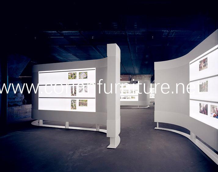 Made in China Acrylic Solid Surface Display Unit
