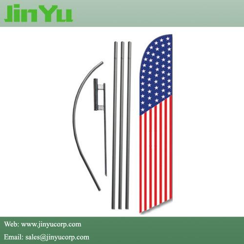 Aluminum Swooper Flying Banner Hardware Kits