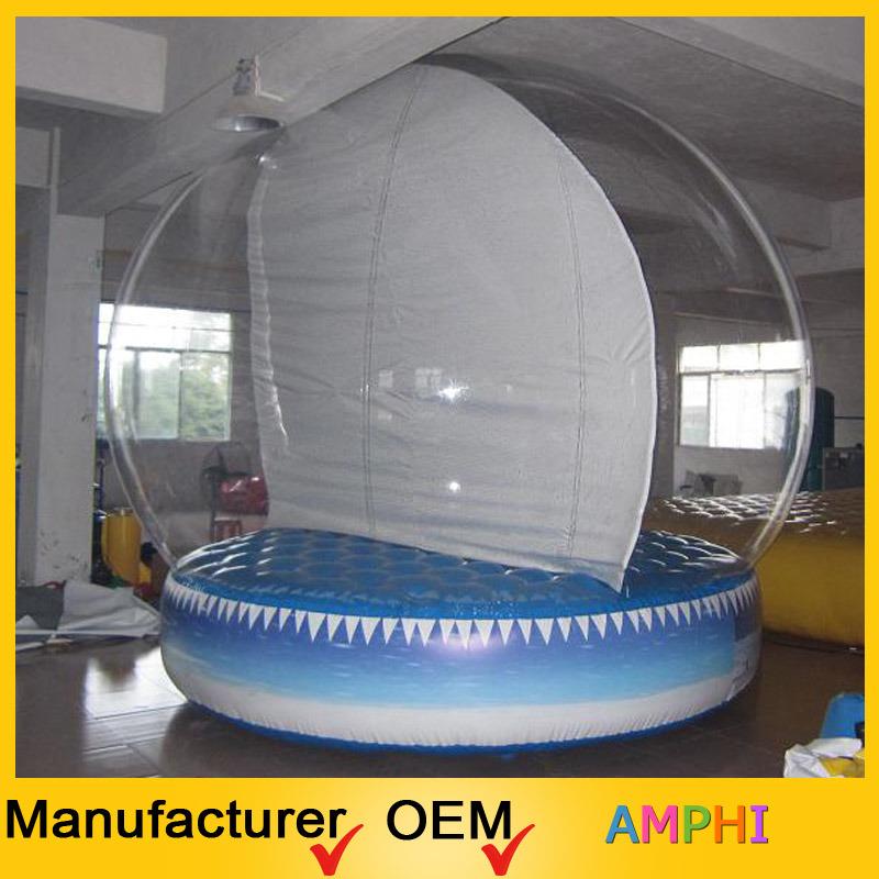 Customized Inflatable Christmas Snow Ball, Bouncer Ball, Snow Globe
