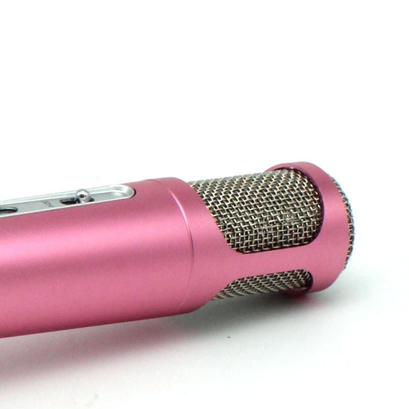 K068 Wholesale Bluetooth Wireless Portable Mini Microphone Karaoke Speaker Mic