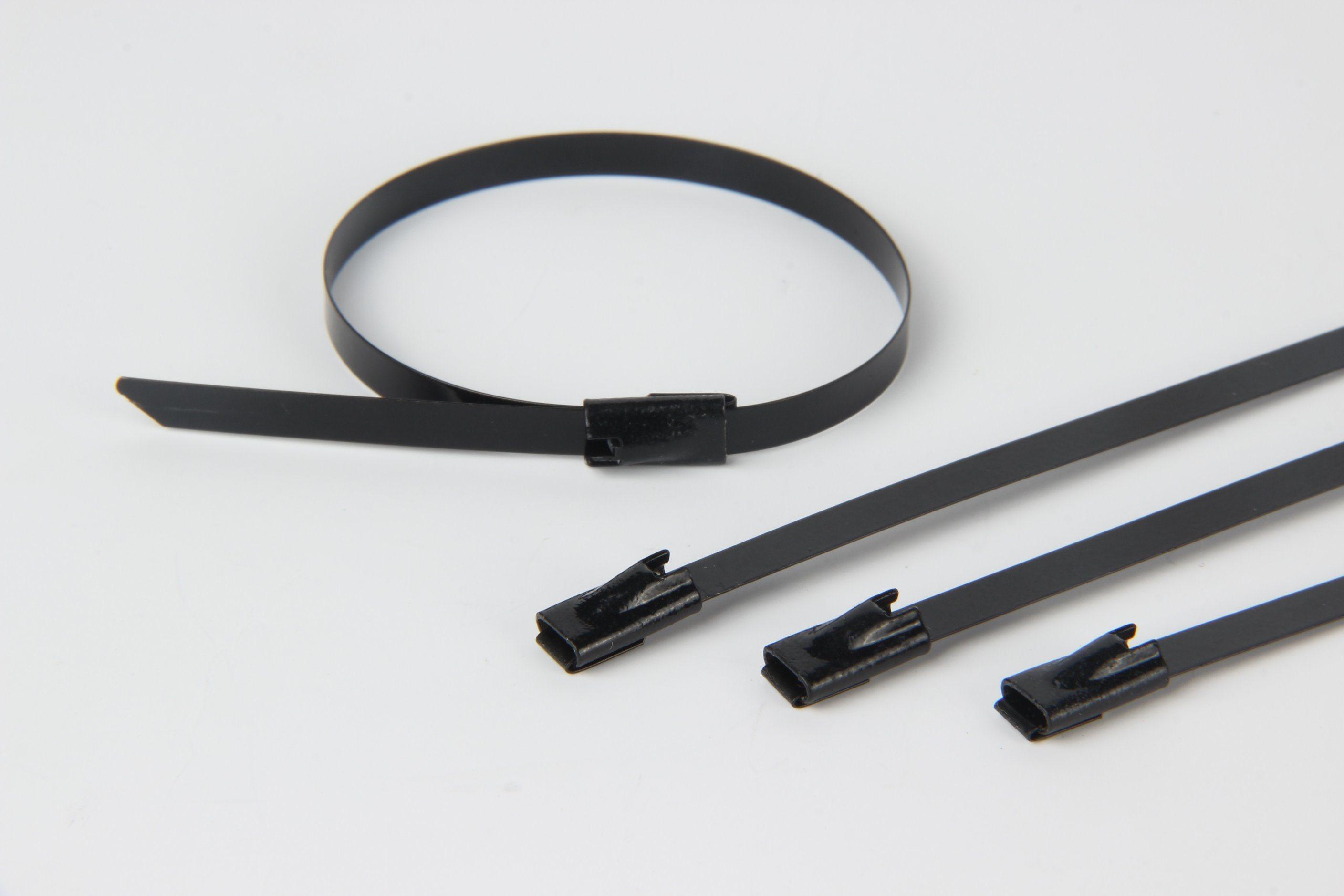 Heavy Duty Metal 304 Stainless Steel Zip Tie Self Locking