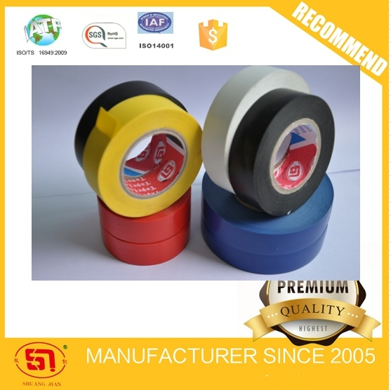 Colorful Electrical PVC Adhesive Tape