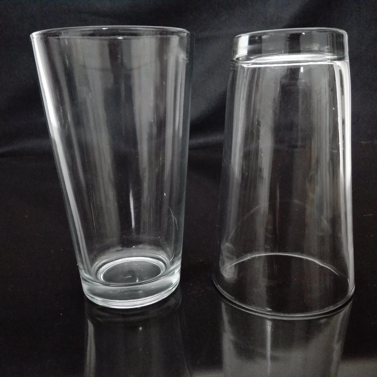 430ml Hot Sale Transparent Glass Tea Water (LHY8064)