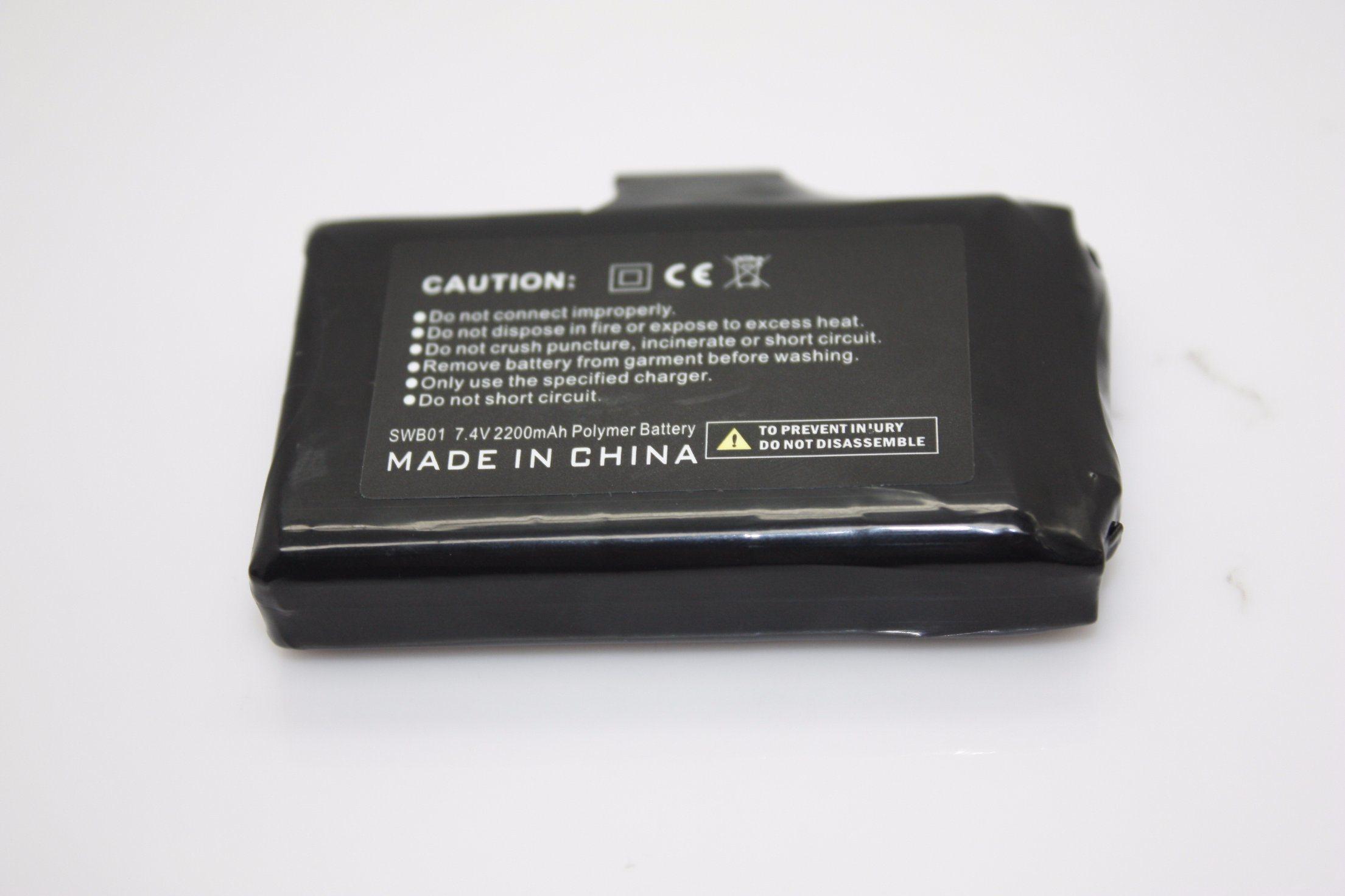 7.4V, 2200mAh Battery for Heated Glove(GB-2000)
