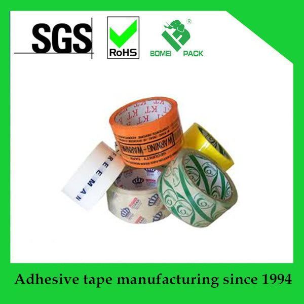 BOPP Packaging Tape Acrylic Tape with Logo Print