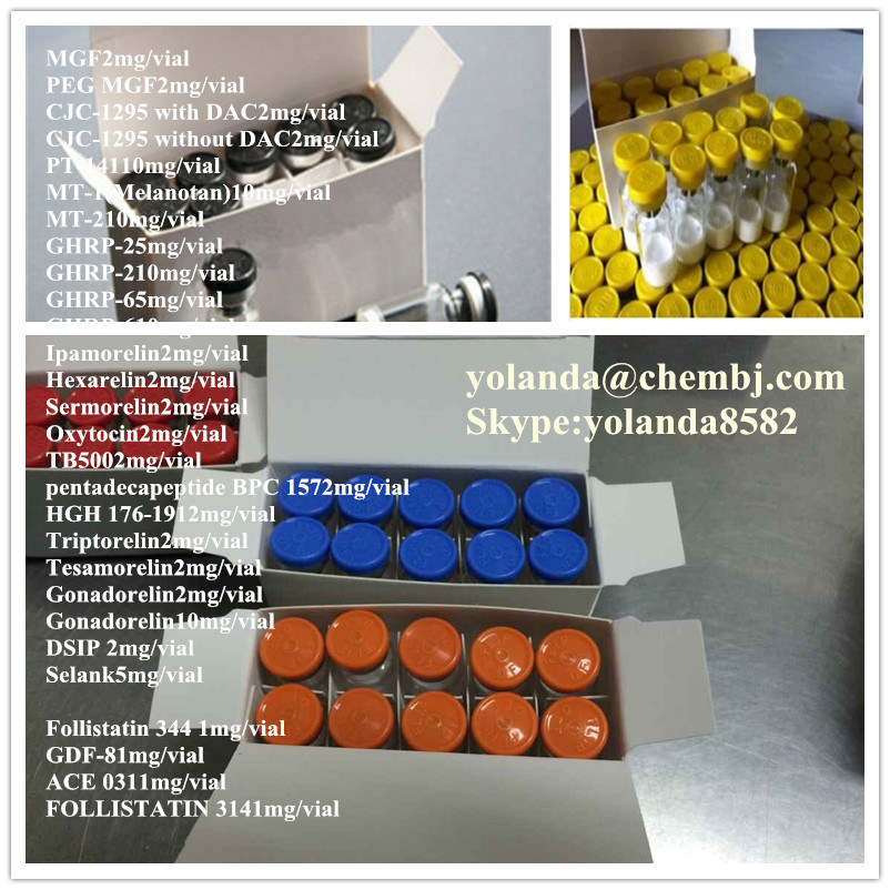 Shipping From USA Top Quality Growth Peptides Melanotan Mt-1 Mt-2 10mg/Vial