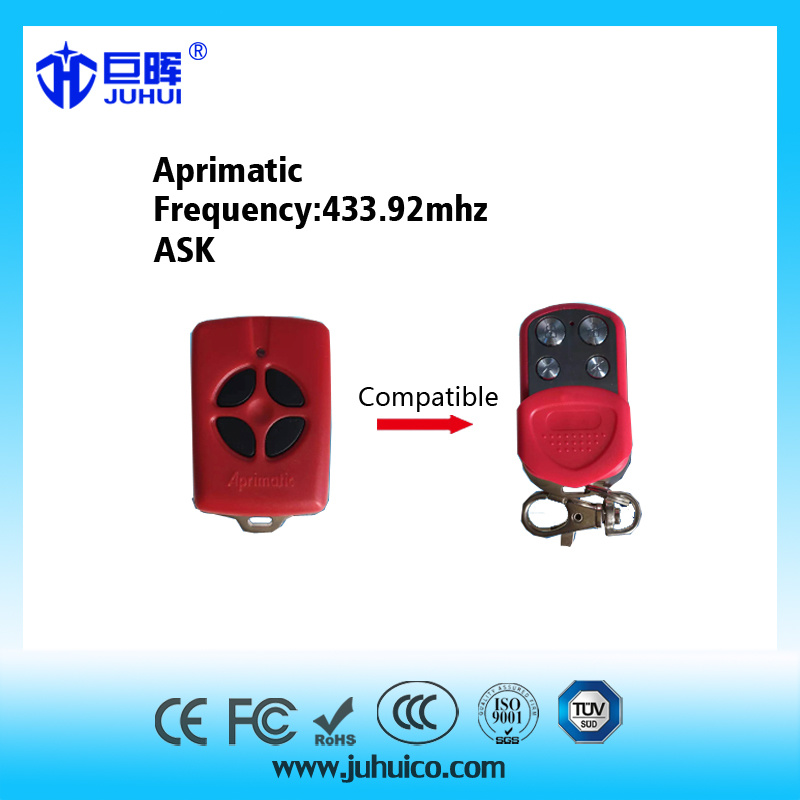 New Product Universal Remote Transmitter Compatible with Aprimatic