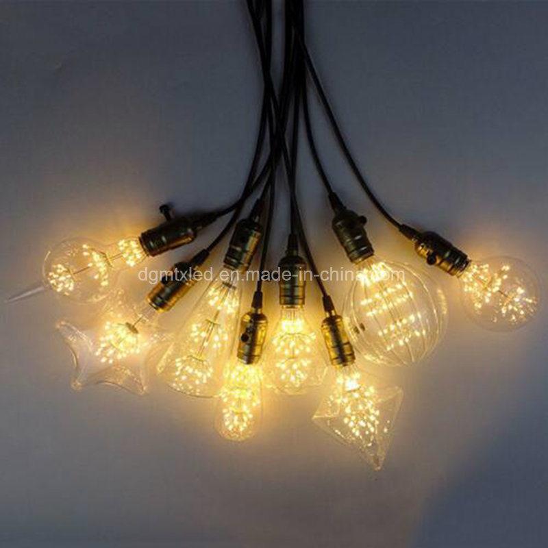Home 3W E27 220V E26 110V Retro Edison Decoration Bulb