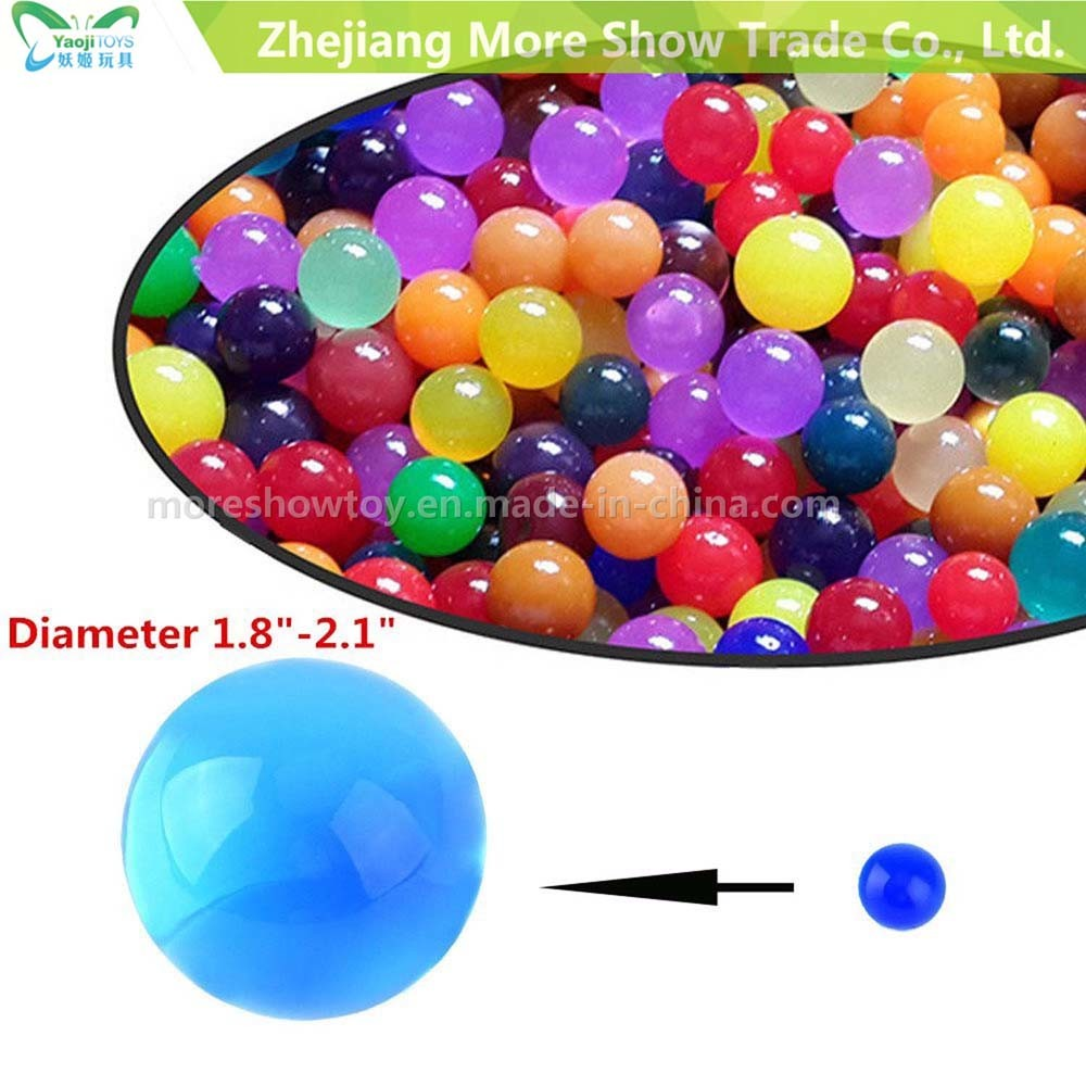 Factory Supply Big Size Water Beads Flowers Growing Crystal Soil Orbeez