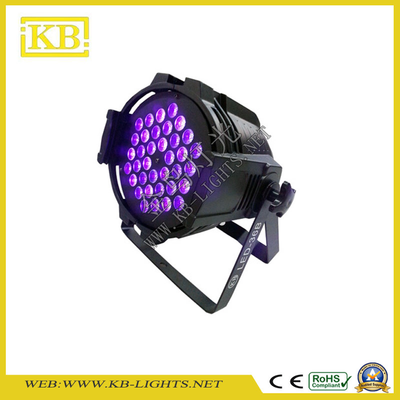 High Power Quality 36PCS*1W/3W LED PAR Light for Stage
