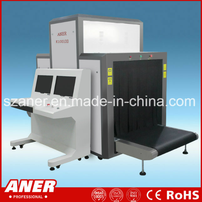 K100100 Large Tunnel X Ray Detector Equipment Machine Baggage Scanner