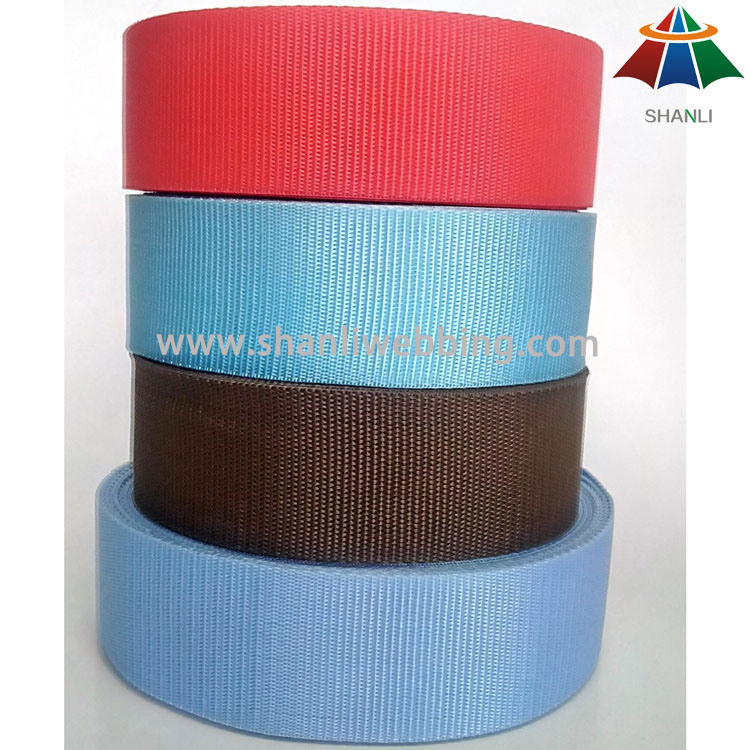 2016 High Quality PP / Polypropylene Webbing From China Factory