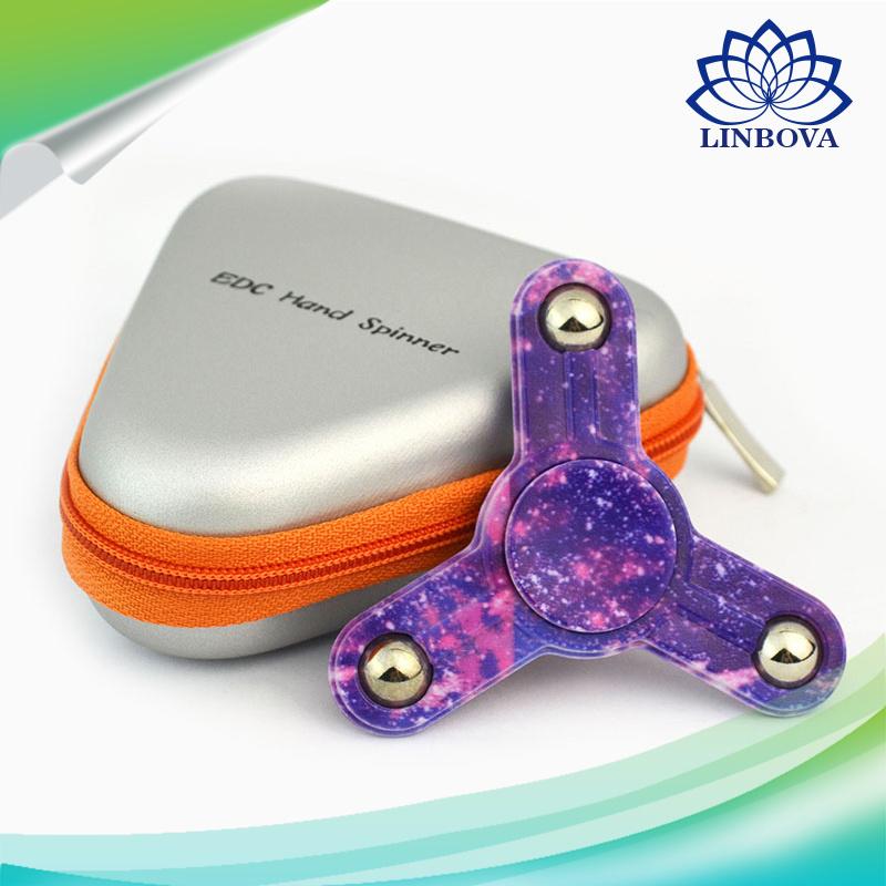 Three Bearing High Presicion ABS Plastic Hand Finger Fidget Toy Spinner