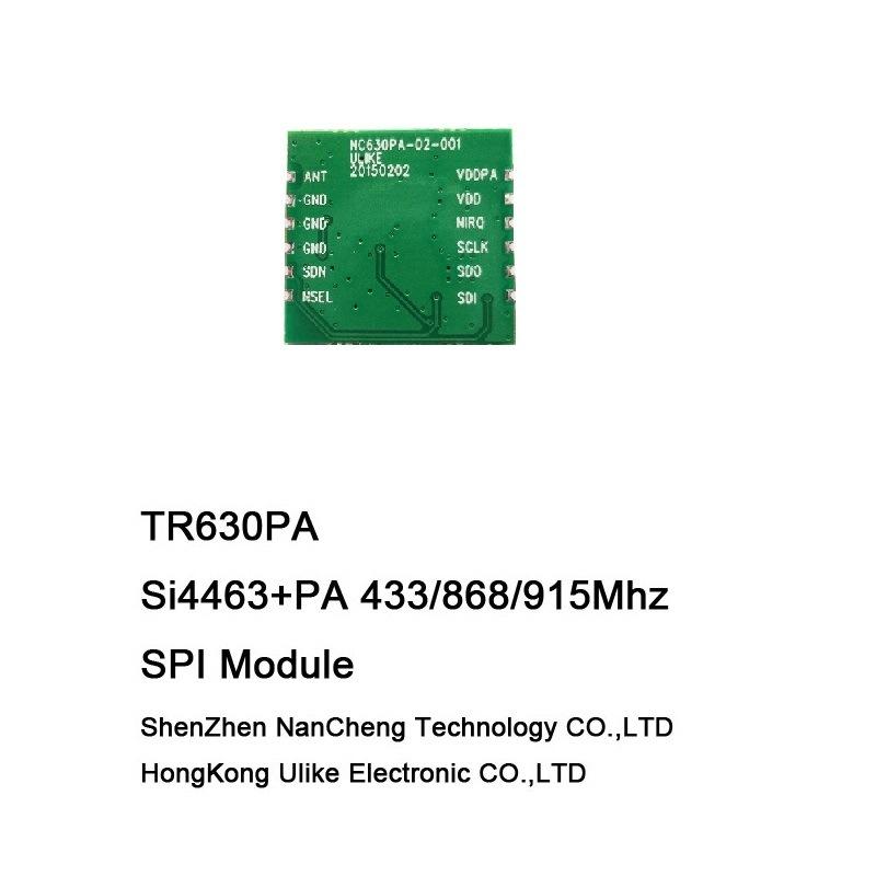Si4463 + PA RF Module Transceiver Module 433 868 915 950MHz
