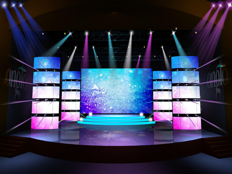 High Density P1.667 Full Color LED Video Wall
