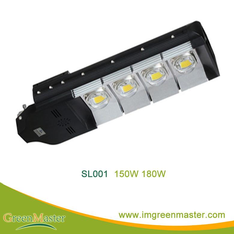SL001 50W 60W 100W 120W 150W 180W 200W 240W 300W COB LED Street Light