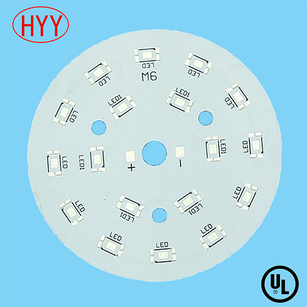 Single Sided Aluminum LCD PCB with Short Lead Time 3-4 Days (HYY-112)