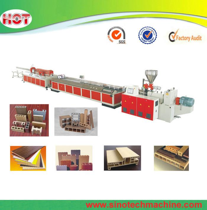 Plastic PVC WPC Profile Extrusion Machine Production Line