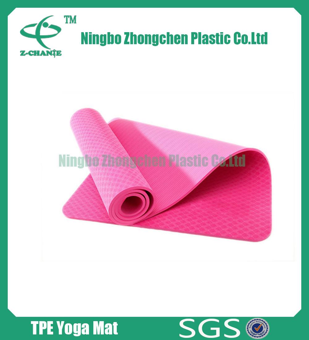 TPE Yoga Mat Manufacture for Wholesale Eco-Friendly Yoga Mats