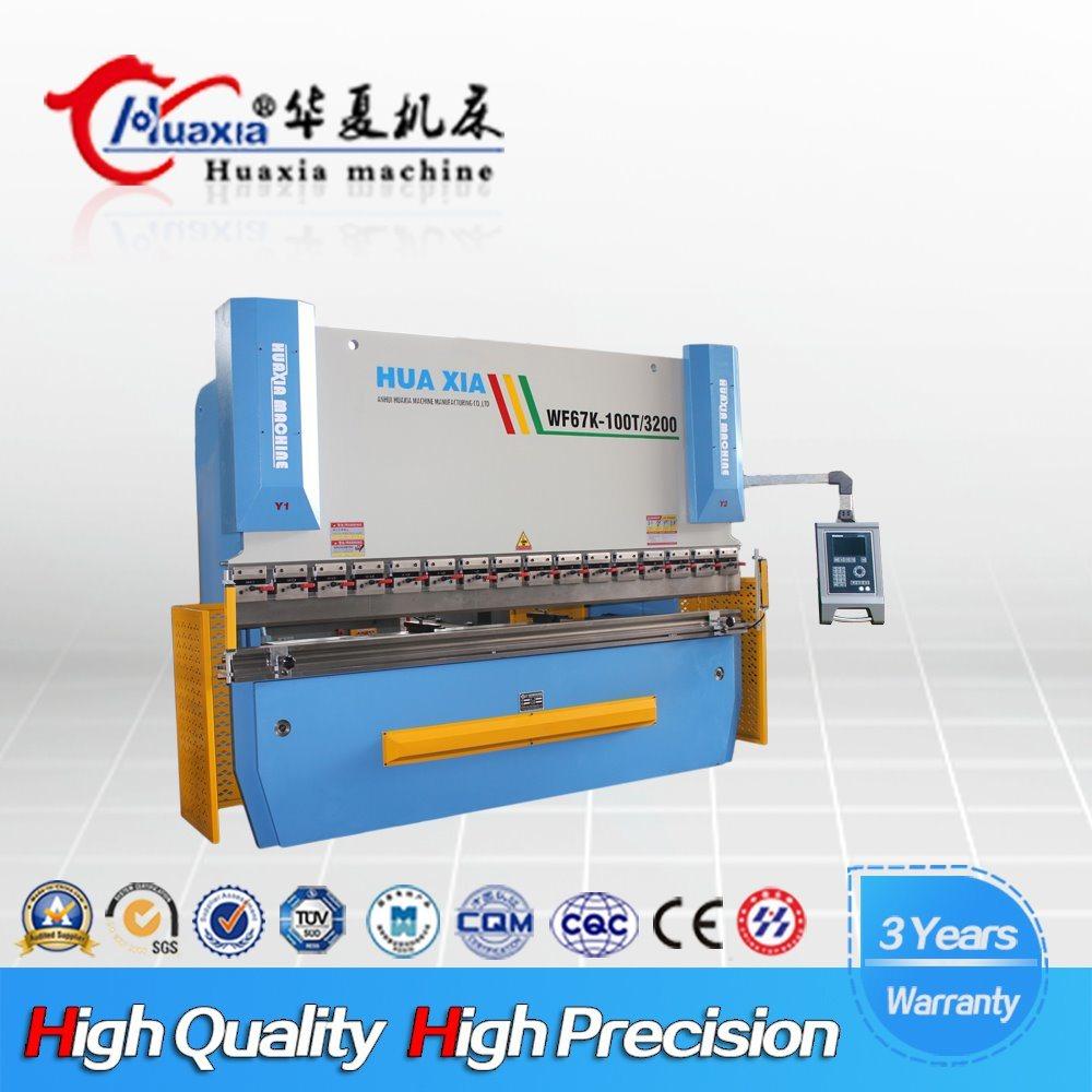 Wd67K CNC Control System Famous Press Brake