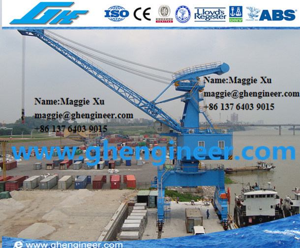 45t Mobile Cargo Cement Unloading Portal Crane